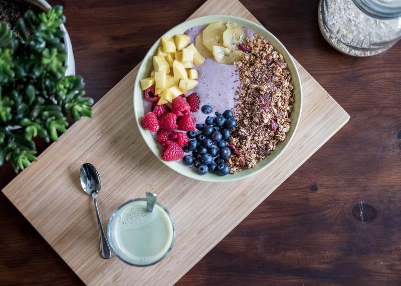 朝食プロテイン
